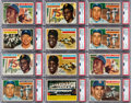Baseball Cards:Lots, 1956 Topps Baseball Mid to High Grade Collection (650+). ...