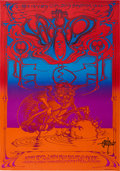 Music Memorabilia:Posters, The Who Hollywood Palladium Concert Poster Signed by Rick GriffinAOR-3.65 (Magic Circus, 1969)....