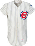 Baseball Collectibles:Uniforms, 1970 Ron Santo Game Worn Chicago Cubs Jersey, MEARS A10--PhotoMatched!...