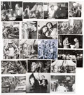 Movie/TV Memorabilia:Photos, M*A*S*H Large Collection of Black and White Set Photos(Circa 1970s - Early 1980s)....