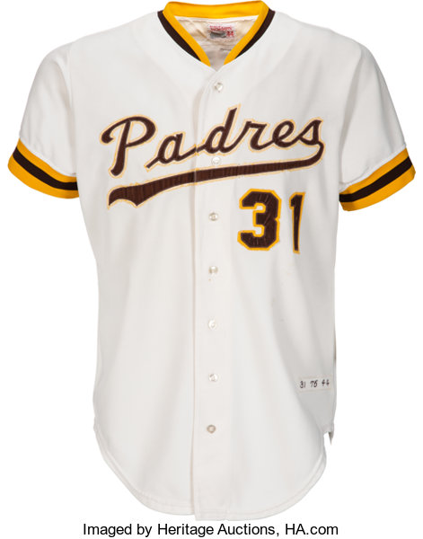 af555835 Baseball Collectibles:Uniforms, 1975 Dave Winfield Game Worn San Diego  Padres Uniform.
