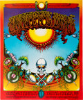 "Music Memorabilia:Posters, Grateful Dead ""Aoxomoxoa"" Avalon Ballroom Concert Poster AOR-2.24(Soundproof Productions,1969)...."