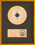 Music Memorabilia:Awards, Hot Chocolate Every 1's A Winner RIAA Gold Sales Award (INF-50,002, 1978)....