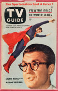 Magazines:Miscellaneous, Superman Cover TV Guide #26 (MLA, 1953) Condition: GD/VG. ...