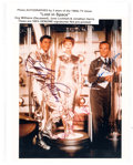 "Memorabilia:Miscellaneous, Lost in Space Guy Williams, June Lockhart, and JonathanHarris Autographed 8"" x 10"" Photograph...."