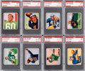 Football Cards:Sets, 1950 Bowman Football Complete Set (144) With Graded Cards....
