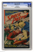 Golden Age (1938-1955):Science Fiction, Space Patrol #2 (Ziff-Davis, 1952) CGC VF 8.0 Off-white pages. Atie-in with the TV show of the same name, this comic sports...