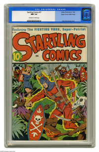 Startling Comics #37 Mile High pedigree (Better Publications, 1946) CGC NM 9.4 Off-white to white pages. This book boast...