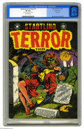 Golden Age (1938-1955):Horror, Startling Terror Tales #10 Double Cover (Star Publications, 1952)CGC VF 8.0 Off-white pages. What Pre-Code horror fan would...