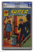 Golden Age (1938-1955):Adventure, Super Comics #35 Rockford pedigree (Dell, 1941) CGC VF+ 8.5 Cream to off-white pages. Dick Tracy cover. Overstreet 2005 VF 8...