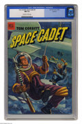 Golden Age (1938-1955):Science Fiction, Tom Corbett Space Cadet #5 Spokane pedigree (Dell, 1953) CGC NM 9.4Off-white to white pages. Overstreet 2005 NM- 9.2 value ...