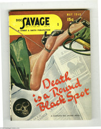 Doc Savage V27#3 (Street and Smith, 1946) Condition: VF+. This digest is so nice and fresh, it looks as if it might have...
