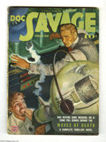Pulps:Miscellaneous, Doc Savage V20#6 (Street and Smith, 1943) Condition: FN+. Has science gone berserk? Of course it has; this is a Doc Savage...