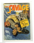 Pulps:Miscellaneous, Doc Savage V28#4 (Street and Smith, 1941) Condition: VG/FN. Doc's in high-flying trouble on the cover of this attractive iss...