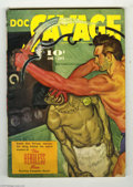 "Pulps:Miscellaneous, Doc Savage V27#4 (Street and Smith, 1941) Condition: VG/FN. Docuncovers another ""weird menace"" in ""The Headless Men."" A bea..."