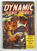 Pulps:Miscellaneous, Dynamic Science Stories V1#2 (Red Circle, 1939) Condition: VG. Norman Saunders turned in a wild cover depicting Adolf Hitler...