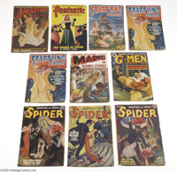 Miscellaneous Pulps (Various, 1939-50) Condition: Average VG. Here's a very nice group lot of classic pulp magazines: Am...