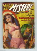 Pulps:Miscellaneous, Spicy Mystery Stories V3#4 (Culture, 1936) Condition: VG. A bull's eye bondage cover by H. J. Ward assures you this is indee...