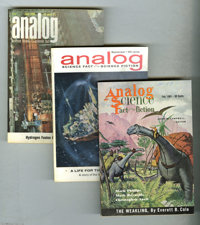 Astounding Science Fiction and Analog Digest Box Lot (Street and Smith/Conde Nast, 1946-66) Condition: Average FN. For t...