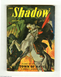 Shadow Pulp Digest Group (Street & Smith, 1944-46) Condition: Average VG. This lot consists of the Jan. 1944, April...