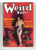 Golden Age (1938-1955):Horror, Weird Tales (Pulp) Nov 1935 (Popular Fiction, 1935) Condition:Apparent VG/FN. This issue of Weird Tales leads with a be...