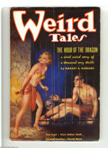 Golden Age (1938-1955):Horror, Weird Tales (Pulp) Dec 1935 (Popular Fiction, 1935) Condition: Apparent VG+. This Margaret Brundage cover features a shackle...