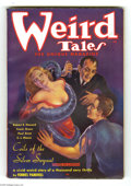 Pulps:Horror, Weird Tales (Pulp) Feb 1936 Canadian Edition (Popular Fiction,1936) Condition: FN-. Attractions like the Margaret Brundage ...