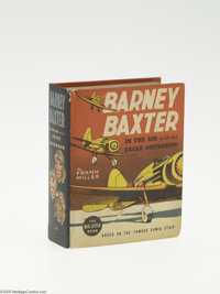 Big Little Book #1459 Barney Baxter in the Air with the Eagle Squadron (Whitman, 1938) Condition: FN/VF. Hard cover, 432...