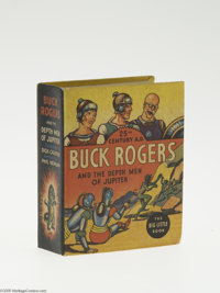 Big Little Book #1169 Buck Rogers and the Depth Men of Jupiter (Whitman, 1935) Condition: NM-. Hard cover, 432 pages. St...