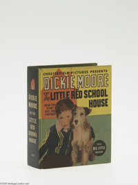 Big Little Book #1124 Dickie Moore in the Little Red School House (Whitman, 1936) Condition: NM-. Hard cover, 240 pages...