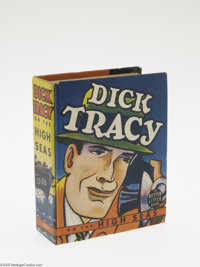 Big Little Book #1454 Dick Tracy on the High Seas (Whitman, 1939) Condition: FN+. Better Little Book. Hard cover, 432 pa...