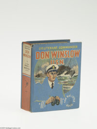 Big Little Book #1107 Don Winslow, U.S.N. (Whitman, 1935) Condition: VF. By Lt. Comdr. Frank V. Martinek, 432 pages. Ove...