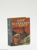 Golden Age (1938-1955):Miscellaneous, Big Little Book #1419 Don Winslow of the Navy Vs. the Scorpion Gang (Whitman, 1938) Condition: NM-. Better Little Book. Hard...