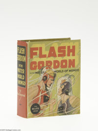 Big Little Book #1407 Flash Gordon in the Water World of Mongo (Whitman, 1937) Condition: NM-. Hard cover, 432 pages. St...