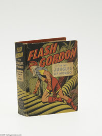 Big Little Book #1424 Flash Gordon in the Jungles of Mongo (Whitman, 1947) Condition: FN/VF. By Alex Raymond, with 352 p...