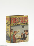 Golden Age (1938-1955):Miscellaneous, Big Little Book #1164 Freckles and the Lost Diamond Mine (Whitman, 1937) Condition: VF. Hard cover, 432 pages. Standard size...