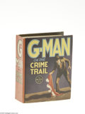 Golden Age (1938-1955):Miscellaneous, Big Little Book #1118 G-Man on the Crime Trail (Whitman, 1936) Condition: NM-. This first G-Man Big Little Book was written ...