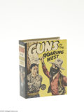 Golden Age (1938-1955):Miscellaneous, Big Little Book #1426 Guns in the Roaring West (Whitman, 1937) Condition: NM-. 300 pages. Overstreet 2005 VF/NM value = $55....