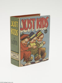 Big Little Book #1401 Just Kids (Whitman, 1937) Condition: VF+. Based on the famous comic strip. Hard cover, 432 pages...