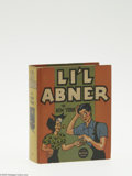 Golden Age (1938-1955):Miscellaneous, Big Little Book #1198 Li'l Abner in New York (Whitman, 1936) Condition: VF-. Hard cover, 432 pages. Written and illustrated ...