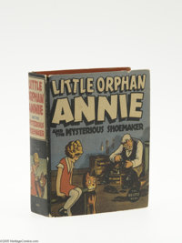 Big Little Book #1449 Little Orphan Annie and the Mysterious Shoemaker (Whitman, 1938) Condition: FN+. Hard cover, 432 p...