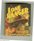 Golden Age (1938-1955):Miscellaneous, Big Little Book #1489 Lone Ranger and the Red Renegades (Whitman, 1939) Condition: NM-. Better Little Book. Hard cover, 432 ...