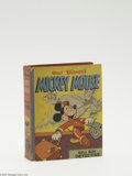 Golden Age (1938-1955):Miscellaneous, Big Little Book #1483 Mickey Mouse Bell Boy Detective (Whitman, 1940) Condition: VF. Hard cover, 352 pages. Written by Merri...