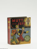 Golden Age (1938-1955):Miscellaneous, Big Little Book #1113 Mutt and Jeff (Whitman, 1936) Condition: NM-. Hard cover, 300 pages. Written and illustrated by Bud Fi...