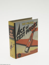Big Little Book #1445 Pat Nelson Ace of Test Pilots (Whitman, 1937) Condition: NM-. Hard cover, 432 pages. Standard size...
