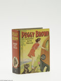 Golden Age (1938-1955):Miscellaneous, Big Little Book #1427 Peggy Brown and the Runaway Auto Trailer (Whitman, 1937) Condition: NM-. This is the first Peggy Bro...