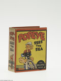 Golden Age (1938-1955):Miscellaneous, Big Little Book #1163 Popeye Sees the Sea (Whitman, 1936) Condition: VF/NM. This is the first Whitman Popeye Big Little ...