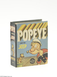 Big Little Book #1405 Popeye and the Jeep (Whitman, 1937) Condition: NM-. Hard cover, 432 pages. Standard size 3.625&quo...