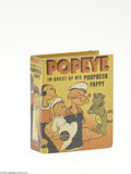 Golden Age (1938-1955):Miscellaneous, Big Little Book #1450 Popeye in Quest of His Poopdeck Pappy (Whitman, 1937) Condition: VF/NM. Hard cover, 432 pages. Standar...