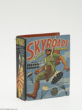 """Golden Age (1938-1955):Miscellaneous, Big Little Book #1439 Skyroads with Clipper Williams (Whitman, 1938) Condition: NM-. """"Skyroads with Clipper Williams of the ..."""
